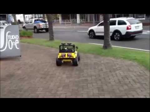 4wd Ride In Jeep For Kids With Remote Control Youtube