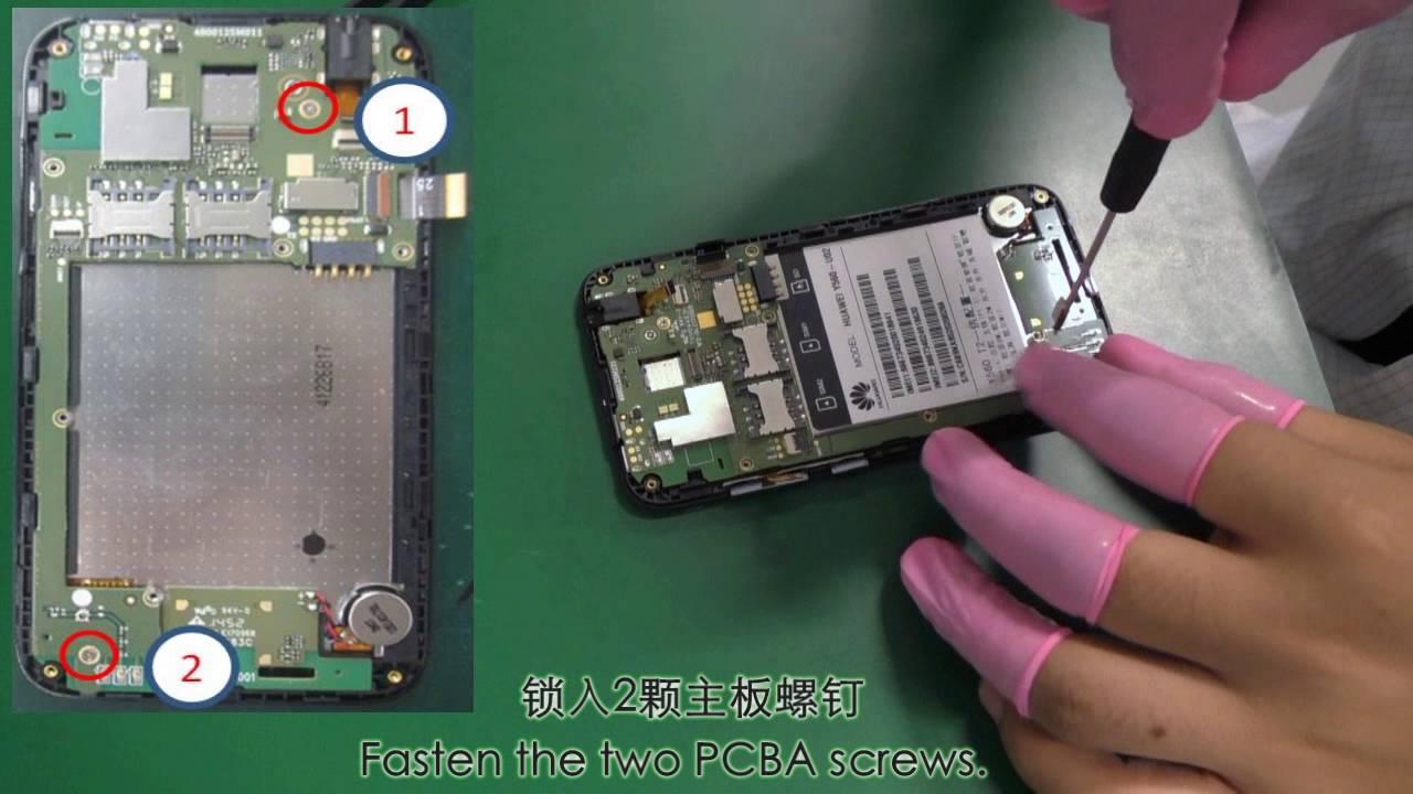 Huawei Y560-U02 & Y541-U02 Assembly Tutorial