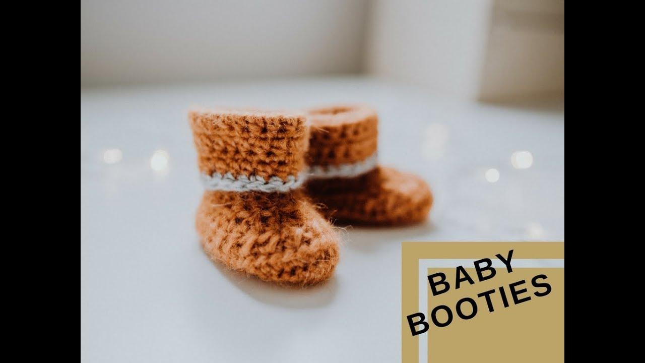 Sehr Einfach Baby Schuhe Häkeln Für Anfänger Youtube