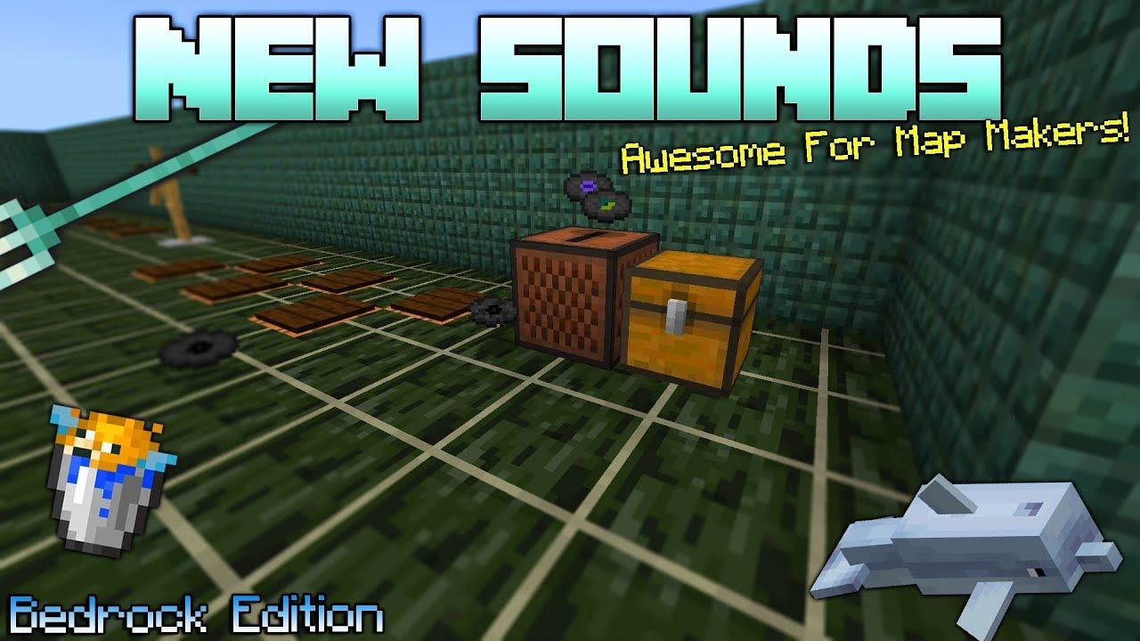 New Sounds On Minecraft Bedrock Edition (1 4 Update) - YouTube