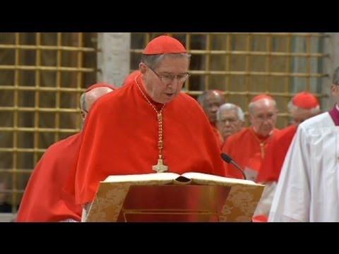 Affaires de pédophilie: l'Eglise soutient le cardinal Mahony qui a participé au conclave poster