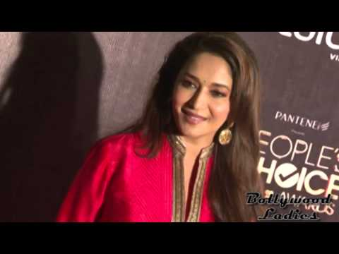Hot Madurai Dixit at People's Choice Awards On Red Carpet