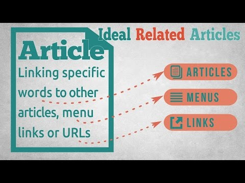 Word Linking  - Ideal Related Articles for Joomla