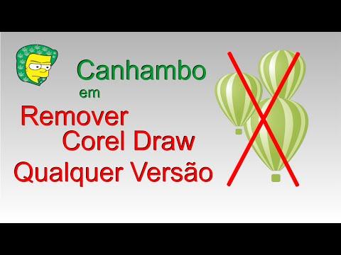 Remover Corel Draw Qualquer Versão - 2016 | desinstalar corel sem downloads PT BR