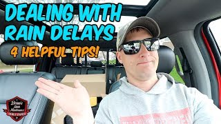 When The RAIN Just WON'T Let Up ► How To Deal With Rain Delays In Lawn Care!