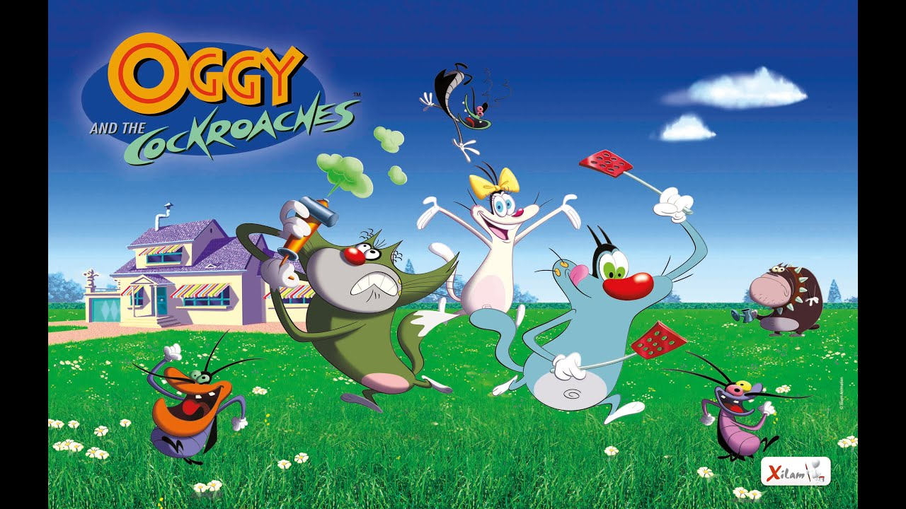 Oggy HD  Oggy and the cockroaches in hindi  YouTube