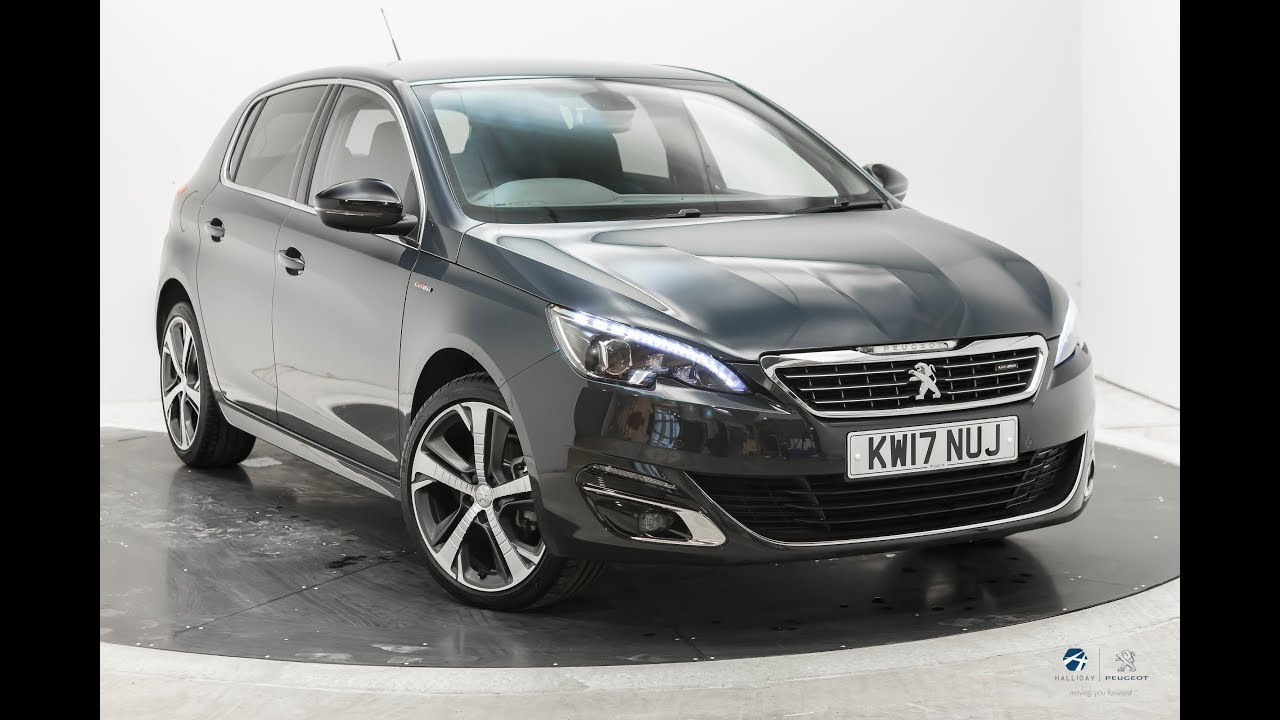 peugeot 308 gt line hurricane grey youtube