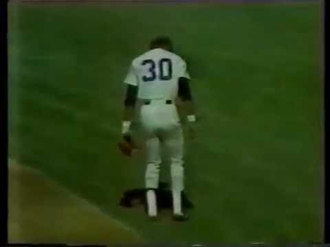 1979 MLB. Texas Rangers vs New York Yankees