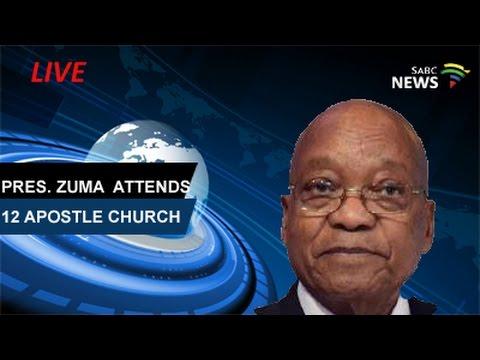 Pres. Zuma attends 12 Apostle Church, KZN: 16 April 2017