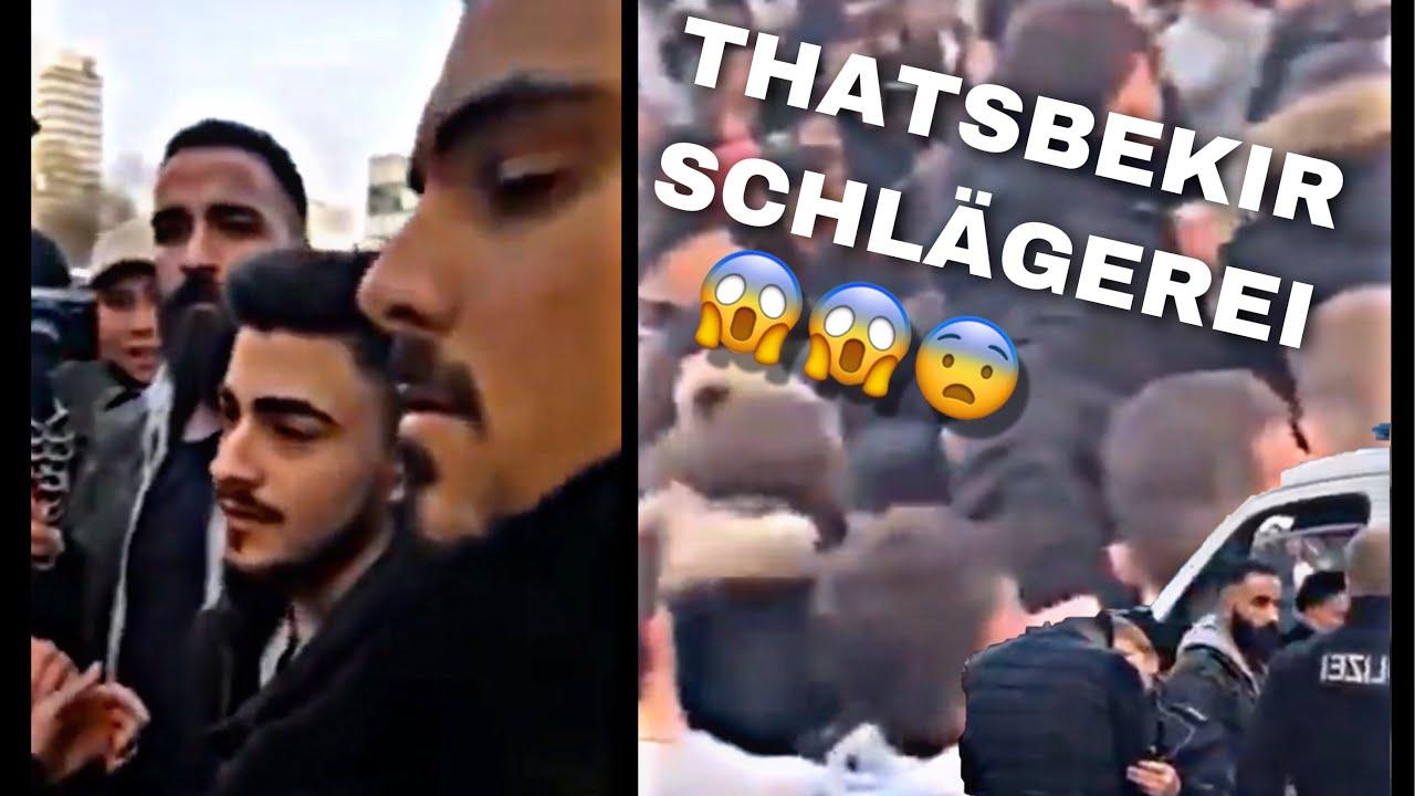 Thatsbekir Schlägerei