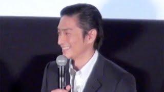 [イベント動画]佐藤健、今年の夏は『るろうに剣心』の夏に! http://y...