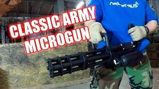 страйкбольный пулемет Classic Army M132 Microgun (M-132)