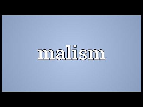 Header of malism