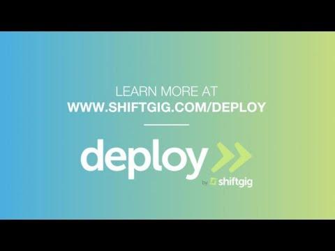 Shiftgig CEO announces launch of Deploy