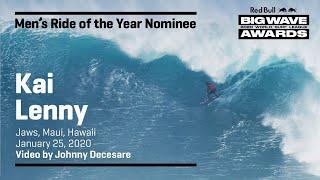 Kai Lenny at Jaws | RIDE OF THE YEAR AWARD NOMINEES - Red Bull Big Wave Awards