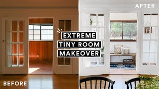 EXTREME TINY ROOM MAKEOVER (From Start to Finish) *Insane Transformation*