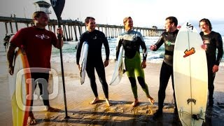 Surfing With Jimmie Johnson & Ian Walsh: California Hot Lap At Huntington Beach - Ep. 1