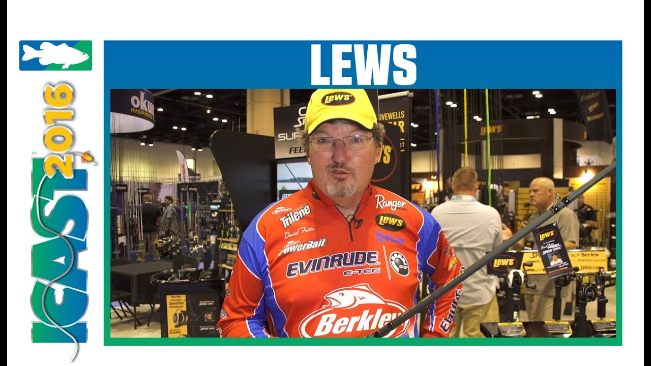 Lew's David Fritts Perfect Crankbait Speed Stick HM42 Rods with David  Fritts | ICAST 2016