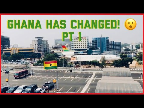 GHANA HAS CHANGED PT1 ! || DAY RIDE THROUGH ACCRA || GHANAIA