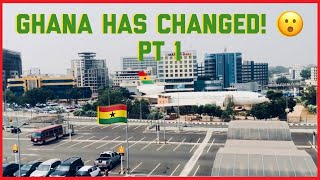 GHANA HAS CHANGED PT1   DAY RIDE THROUGH ACCRA  GHANAIAN YOUTUBER