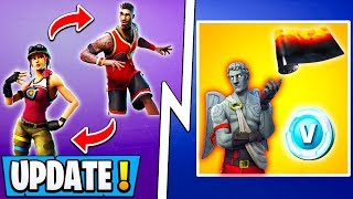 *NEW* Fortnite Update! | Lava Legends Rewards, Change Skin Mid Game, 8.11!