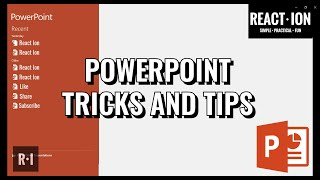 MS PowerPoint Shortcuts, Tricks & Tips