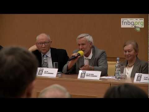 Debata na temat GMO - Uniwersytet Przyrodniczy Wrocław 31.01.2013