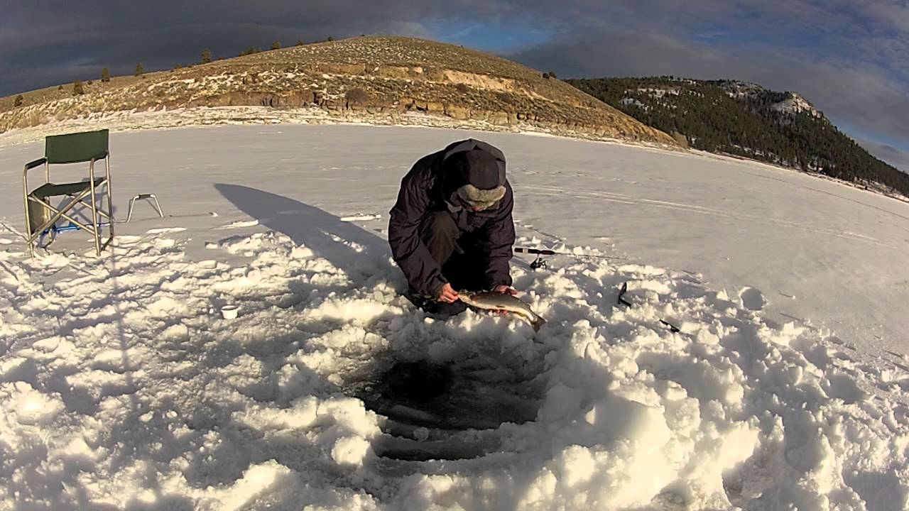 Southernutahangler ice fishing panguitch lake utah gopro for Utah fish finder