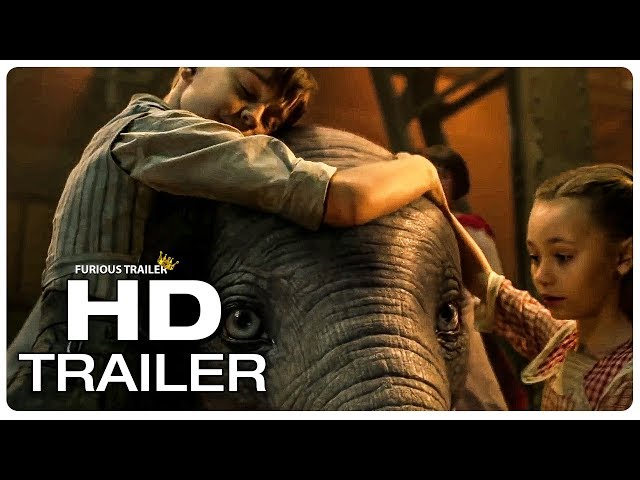DUMBO Trailer #3 Extended (NEW 2019) Disney Animated Movie HD