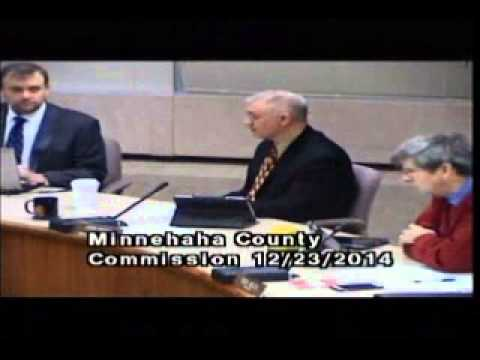 Minnehaha County Commission Meeting - December 23rd, 2014