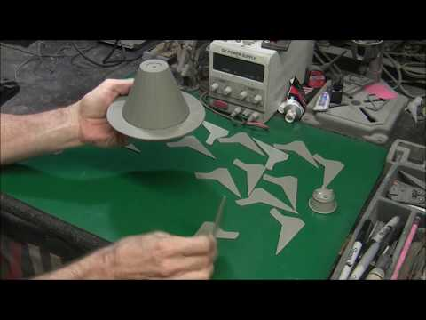 U.F.O. TV Series Studio Scale Alien Saucer Build Part 1
