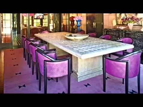 Фиолетовый цвет в интерьерах, часть 2