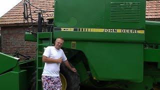 John Deere 1032 - Prezentacja kombajnu i Opinia + BONUS :) [Full HD]