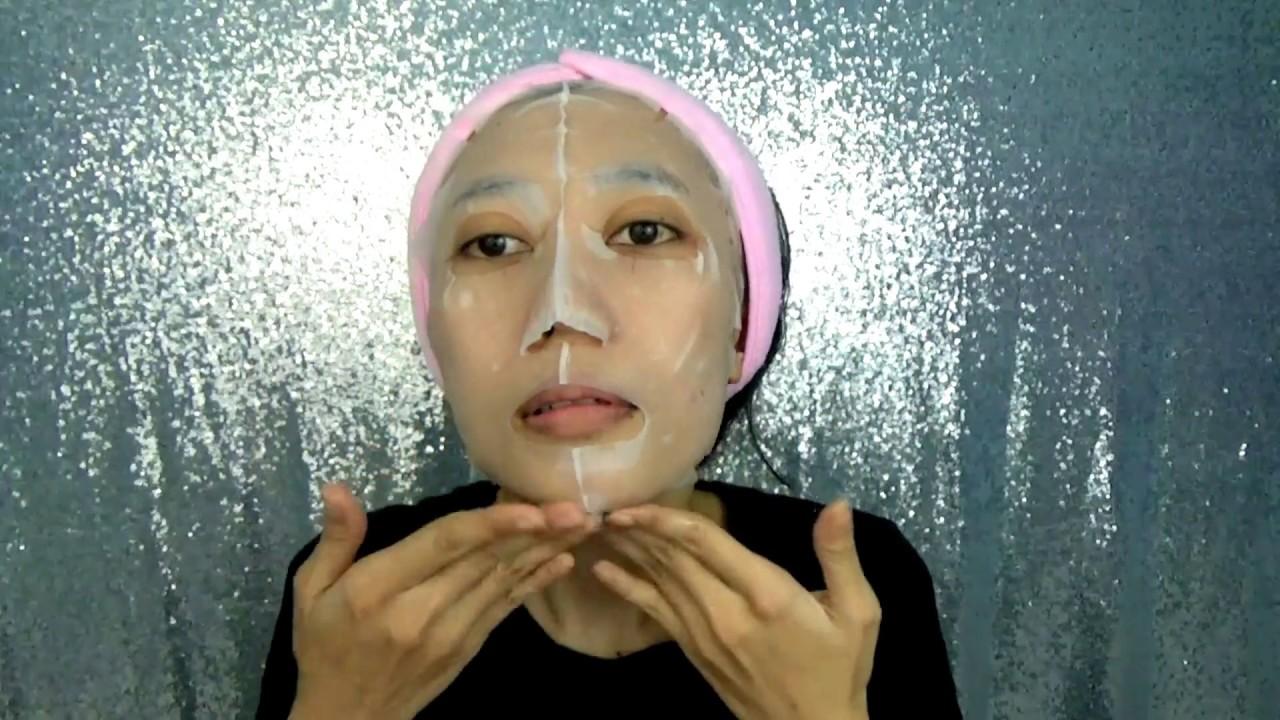 How To Use Korean Sheet Mask Cara Memakai Mask Sheet Novie Marru