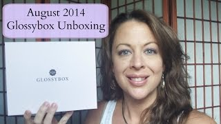 Unboxing the August 2014 Glossybox (It's Fab!)