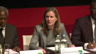 Africa is becoming more influential, Caroline Kende-Robb says at report launch