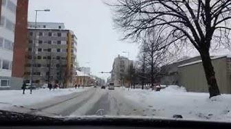 Kuopion keskustan läpi