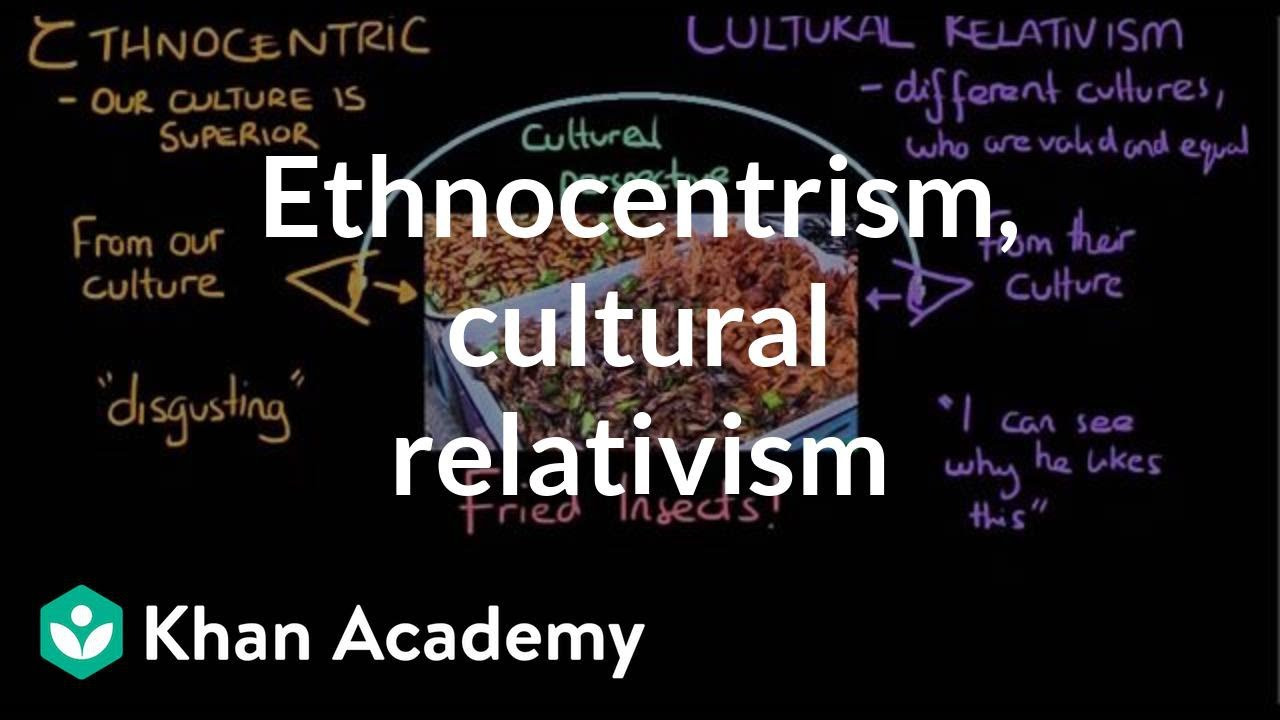 ethnocentrism and cultural relativism in group and out