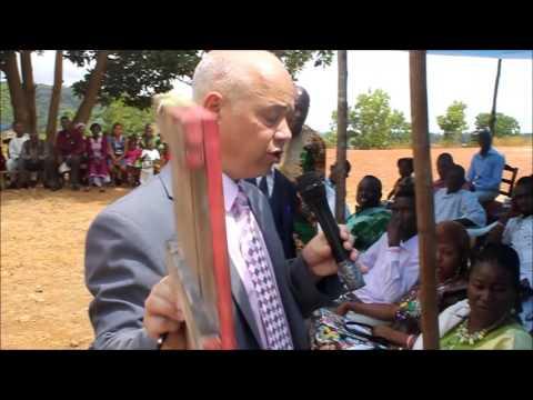 Official Opening of YMCA Hope School Kenema, Sierra Leone.