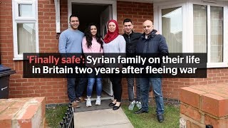 'Now we finally feel safe': Syrian family talk about life in the UK after fleeing war