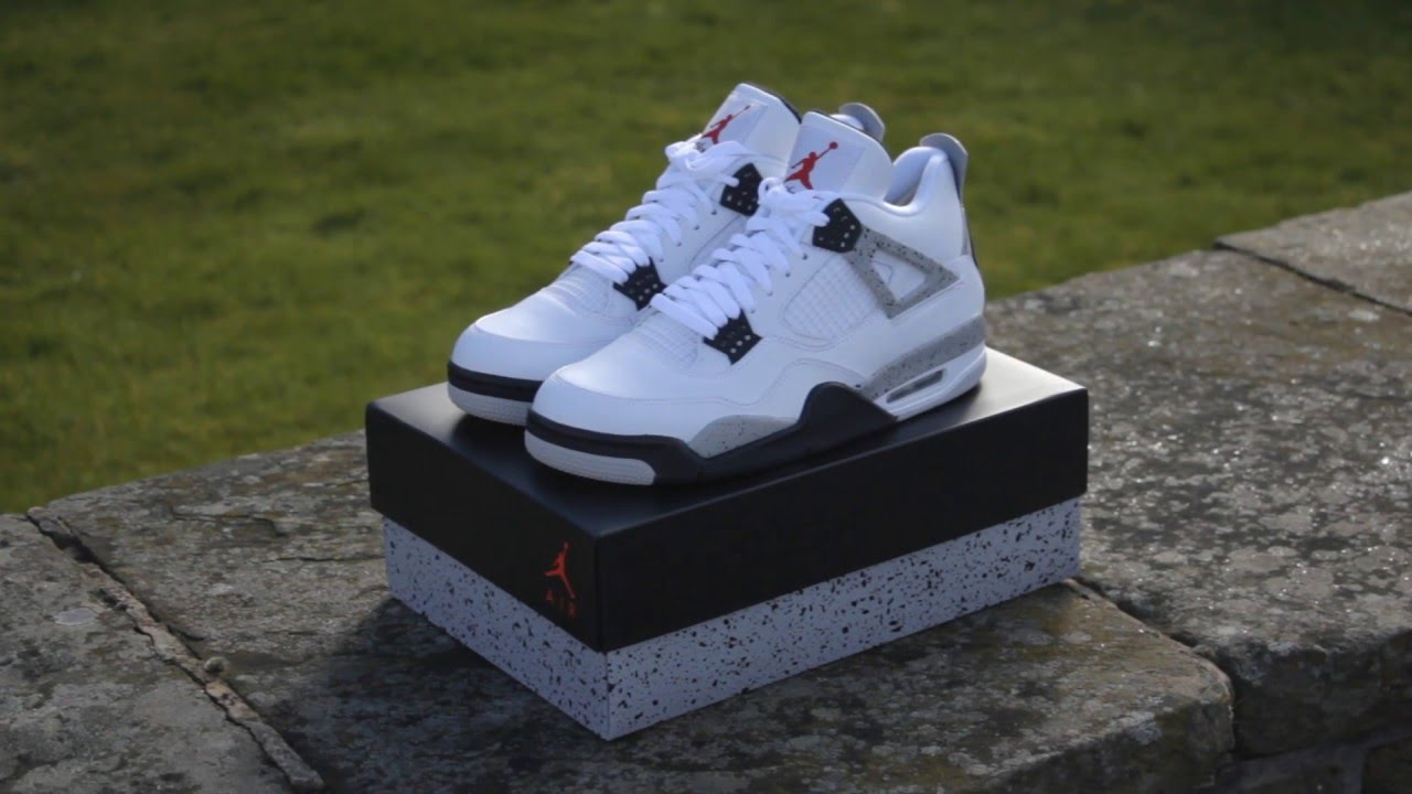 c36ebd0bc3e6 ... discount code for air jordan 4 white cement 2016 i a closer look d1737  646e3