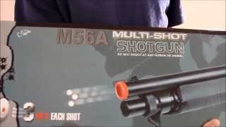 M3 Tri-Shot Airsoft Shotgun Review and Demo (