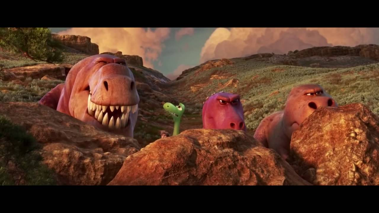 Download The Good Dinosaur - T-Rexes (Full HD)