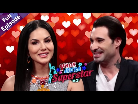 Sunny Leone & Daniel Weber On Yaar Mera Superstar - Valentine's Day Special