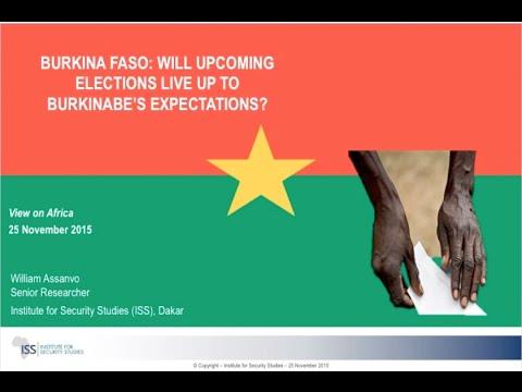 Des attentes élevées pour les prochaines élections au Burkina Faso