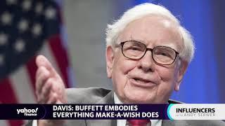 Warren Buffett embodies everything Make-A-Wish does: Richard Davis