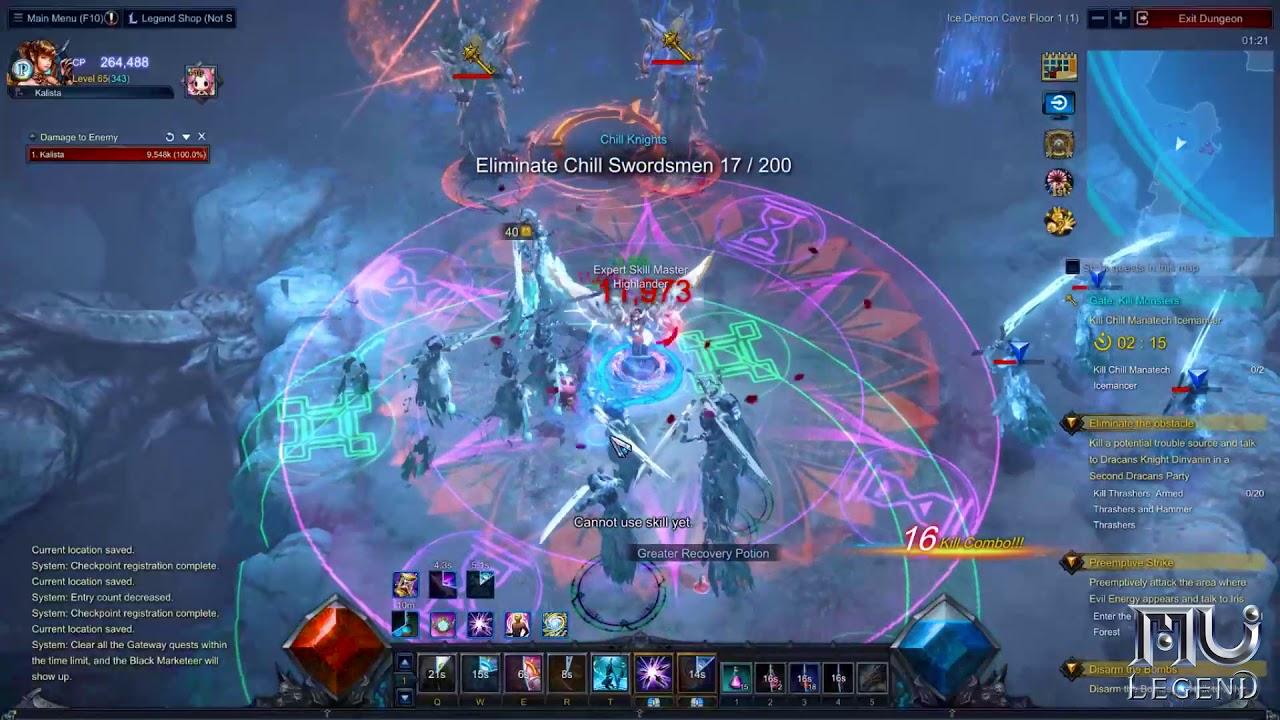 MU Legend: The Next-Gen Action MMORPG