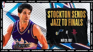 Stockton Leads Utah To Finals | #NBATogetherLive