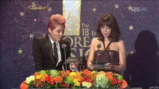 121030 JYJ 준수 JunSu 한국뮤지컬대상 신인상 시상 Korea Musical Awards 시아 XIA