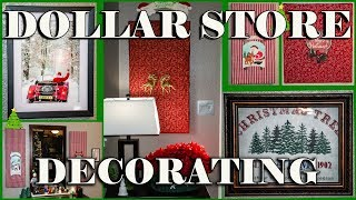 🎄 Dollar Store Christmas Wall Art 🎄12 Days of Christmas DIY Projects